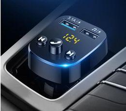 Плеера mp4 онлайн-Автомобильный MP3-плеер многофункционального музыка U диск автомобильного зарядное устройство Bluetooth приемник громкие автомобильный прикуриватель