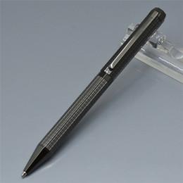 tipos de logotipos Rebajas Bolígrafo de barril cuadrado de metal único de lujo con talla logotipo de la oficina proveedor de negocios de calidad superior tipo giratorio escribir bolígrafos de regalo
