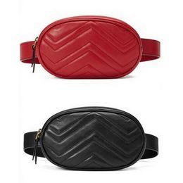 2019 presente do natal da coruja bolsa de lona Hot Sale New Moda Pu Couro Marca Bolsas menina bolsas de grife Fanny Famoso cintura sacos bolsa da senhora cinta peitoral Bag 4 cores