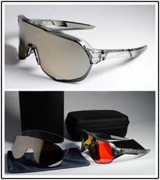Estradas de bicicleta on-line-2019 nova marca óculos 3 lente ciclismo óculos bicicleta ciclismo óculos de sol bicicleta gafas ciclismo road bike ciclismo óculos de sol