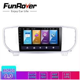 2019 hyundai tucson mp3 spieler Funrover android9.0 IPS + 2.5D Auto DVD Multimedia-Player Autoradio für KIA Sportage 2016 2017 kx5 Navigation Stereo-Headunit GPS