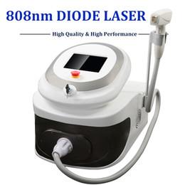 remoção de laser de diodo Desconto 2019 portátil diodo Laser Hair Removal máquina 808nm Ice Ponto Soprano Lazer Diode remover pêlos painfree permanentemente