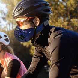 воздушный шарф Скидка Спорт На Открытом Воздухе Велоспорт Маска Обложка Активированный Уголь Анти-Загрязнения Маски Пылезащитный Горный Велосипед Спорт Q