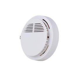 Detectores de fumaça do sistema de alarme sem fio on-line-Alarme de Detectores de Fumaça Detector de Alarme de Incêndio Sem Fio Detectores Sem Fio Sistema de Segurança Em Casa Alta Sensibilidade Estável LED 85DB 9 V Bateria