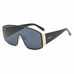 Fashion Luxury Mens Evidence Sonnenbrille Verbesserte Version Z0350W MILLIONAIRE Series Designer-Sonnenbrille Shiny Gold Frame Come von Fabrikanten
