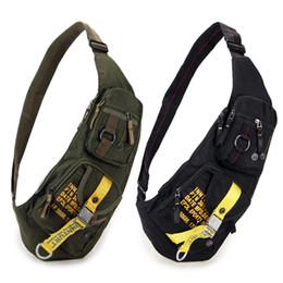 Saco de um dia de viagem on-line-New Waterproof Nylon Peito Travel Bag Militar Corpo Cruz Mensageiro de um ombro Voltar Dia Pacote de alta qualidade Homens Sling RucksackMX190930