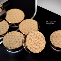 Maquillaje de piel oscura online-Pudaier Brighten Control de aceite Mineral Mate Polvo suelto Corrector Configuración Polvo base para maquillaje de piel oscura Cosméticos