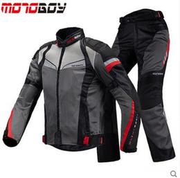 Canada NOUVEAU MOTOBOY équitation Tribu été moto respirante Kits Veste de protection + pantalon moto Ridi livraison gratuite par EMS Offre
