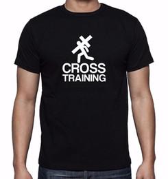 entrenamiento de imprenta Rebajas Nuevos Hombres Impreso Cross Training Jesús Dios Amor Diseño Gráfico Cristiano 2019 Nuevos Hombres Moda Hombres Envío Gratis Camisetas
