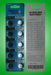 Высокое качество 100% свежий AG13 LR44 A76 L1154 357 SR44 1,5 В Щелочная кнопка монеты ячейки батареи для часов игрушки светодиодные фонари рождественские подарки от Поставщики светодиодный световой сигнал