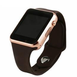 А1 Bluetooth часы подключены фитнес шагомер носить SIM-карту TF карты Bluetooth музыка смарт-часы Android IOS supplier fitness watch smart android ios от Поставщики фитнес часы smart android ios