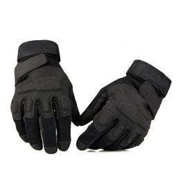 Guantes de combate táctico online-Blackhawk Tactical Gloves Fuera de EE. UU. Guante deportivo Combate de cuero Ejército Dedo completo Guantes de equitación Accs