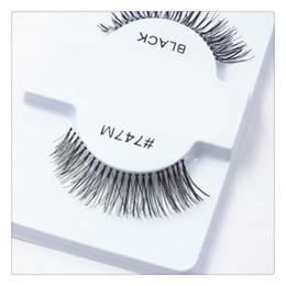 50 Pairs Yanlış Kirpik Siyah Yanlış Kirpik 100% El Yapımı Saç Şerit Kirpik Sahte Göz Lashes nereden