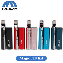 Vape la magia online-Autentico Vapmod Magic 710 Vape Kit 380mah Magic710 Preriscalda VV Battery con 0,5 ml Xtank PRO 510 Ceramic Coil Car Battery Batteria