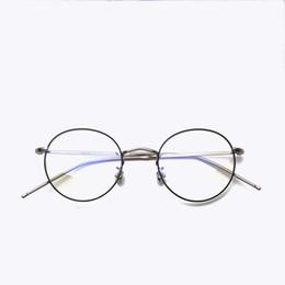 2019 block telefone Vazrobe Kleine Runde Computer Brille Männer Frauen Blau Lichtstrahl Blockieren Auge Schützen Anti Strain Arbeitsbrillen von Telefon UV400 rabatt block telefone