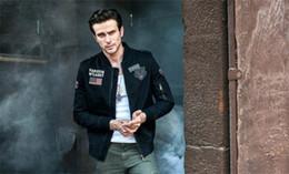 2019 мужская весенняя длинная шерсть Весенняя мода The Pilot Мужские куртки Воротник с длинным рукавом Мужское пальто дешево мужская весенняя длинная шерсть