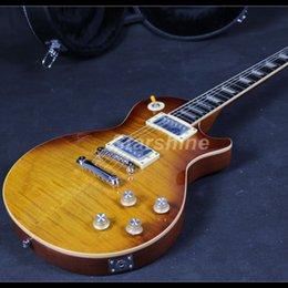 2019 chitarra vincolata 2019 Starshine Deluxe Chitarra elettrica One Piece Body And Neck Tastiera in ebano ABR Bridge Cream Binding chitarra vincolata economici