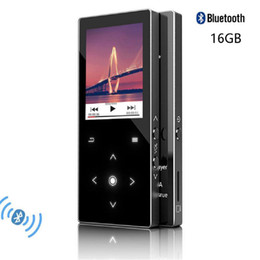 touch screen music player Promo Codes - 2018 MP3 Player With Bluetooth 1.8 inch Screen Touch Keys 16GB Built-in Speaker Lossless MP3 Music Player With FM Radio