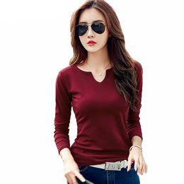 deb6cee12 Discount ladies black white striped t shirt - New fashion design women s  spring cotton collar solid