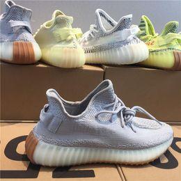 888746af696 adidas yeezy 350 V2 boost Mit Box Sneaker V2 Neu Kanye West V2 SPLY  Laufschuhe Grau Orange Streifen Zebra gezüchtet Schwarz Rot LOTS  Farbqualität Sneakers ...