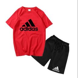 4467bdf58 boy Kids Sets Kids T-shirt And Pant Children Cotton Sets Baby Boys Girls  Summer Suit Baby Sport Suit 2Pcs Set coco