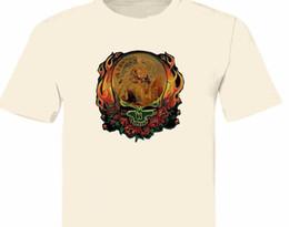 7ae3a47cf Vintage-GRATEFUL-DEAD indian skuli graphic mens t shirt S,M,L,XL,2XL 3XL  4XT-678 Men Women Unisex Fashion tshirt Free Shipping