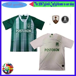 nacional jersey Coupons - 2019 Atletico Nacional Medellin Soccer Jerseys 19 20 Medellin Home green Away white Football Shirts Colombian Primera A Soccer Shirt On Sale