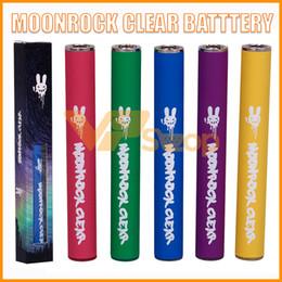 2019 streben starter kits DR ZODIAK'S Moonrock Clear Batterie mit 350mAh für Bobby Blue Razzle Dazzle Silberrücken Frosty Moonrock Clear Verpackung für TKO-Patronen