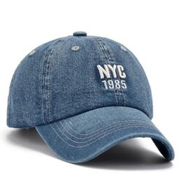 Argentina Venta al por mayor de hombres y mujeres por igual NYC sombreros estampados sombreros de mujer harajuku feng shui lavado sombreros de vaquero gorras de béisbol Suministro