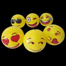 juguetes inflables para adultos Rebajas 30 CM PVC Pelota de Playa Juguetes Emoji Expresión Cara Bola Inflable Adultos Niños Arena Jugar con Agua Juguetes Divertidos