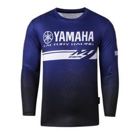 gps yamaha Rabatt Motorrad YZR M1 Motorrad Motocross Moto GP JERSEYS Reitmänner Atmungsaktiv für yamaha T-Shirt Kleidung Fahren
