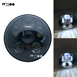"super yamaha Sconti 1pcs 5.75inch 5 3/4 ""LED faro per Dyna Street Bob Super Glide Wide Glide Low Rider Softail Deuce / Springer"