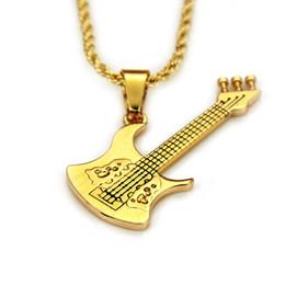 подвески для мужчин Скидка 2019 весна новый мужской модный тренд креативный бутик популярный хип-хоп стиль гитары классический кулон ожерелье
