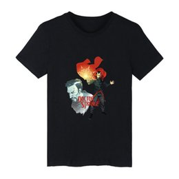 2019 Doctor Strange T-shirt Hombres / mujeres Super Hero Manga corta Moda hombre T-shirt O cuello de algodón Harajuku suave Casual Top desde fabricantes