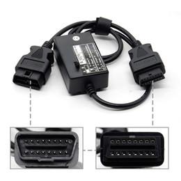 Modulo peugeot online-ACT 1pc OBD OBD2 OBDII Cable de diagnóstico S.1279 S1279 Interface Module Professional para Lexia 3 Peugeot Citroen S1279 PP2000