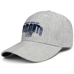 2019 tappi di foglie di acero Toronto Maple Leafs Distressed serie bule Uomo Donna Lana Trucker berretti Cappellino da golf regolabile Cappellino da baseball regolabile Outdoor sconti tappi di foglie di acero