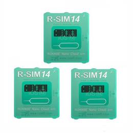 RSIM 14 a versão mais recente Cartão de Desbloqueio RSIM para Todos os iPhone IOS 12 AUTO-Desbloqueio 4G LTE X XS MAX de