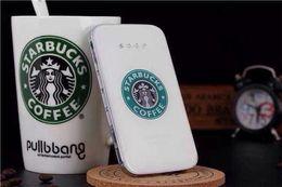 starbucks para iphone Rebajas Starbucks power bank Cartoon Starbucks Charger 2 Port External Battery Power Bank para iPhone para iPhone Samsung Celular Por