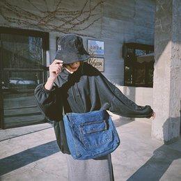 leinwand cowboy tasche Rabatt Amazing2019 Cowboy Ins Männer Und Frauen Einzelnen Schulter Student Eine Umhängetasche Shopping Mom Package Canvas Bag