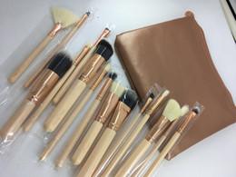 2019 set de pinceles de maquiagem blue sky cosméticos Z.o.e.v.a 2019 Lidar Com Pincéis de Maquiagem Set Cosméticos Profissionais kits de Escovas Foundation Eyeshadow Brushes Kit Make Up Tools 15 pçs / set