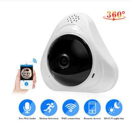 2019 rede sem fio ao ar livre HD 960 P 360 graus Sem Fio IP Câmeras de Visão Noturna Câmera Wi-fi Câmera de Rede IP CCTV câmera de segurança em casa monitor de bebê 1920 * 960 P rede sem fio ao ar livre barato