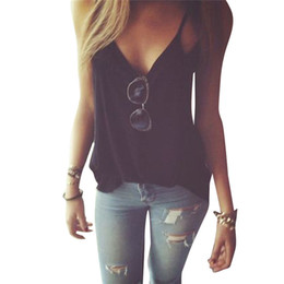 8a96fc56a8 Tank Tops Women T Shirt Bustier Strap Cross Halter Summer Short Tees Black  Gray Soild Cotton Vest T shirts Summer Female Blusas