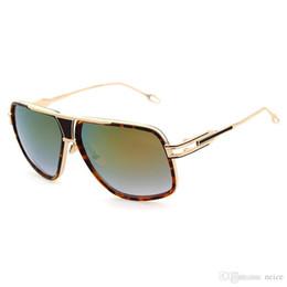 b69dc2e42e 2017 Nuevo Arriva DITA Grandmaster Five Style Sunglasses Hombres Mujeres  Diseñador de Marca Vintage Retro Gafas de Sol Gafas de Sol 1722 con estuche
