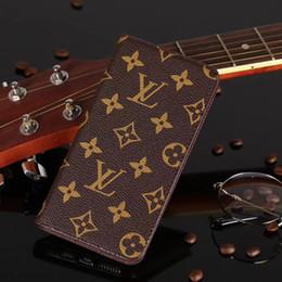 housse en cuir iphone marquée Promotion Pour iphong X XS XR X Max luxe téléphone cas portefeuille porte-carte en cuir concepteur cas de marque de marée pour iphone 7 7plus 8 8plus 6plus couverture arrière