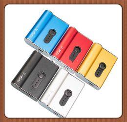 2019 ZTCSMOKE V-mini Caja Mod 450mAh Vape Batería Voltaje variable ajustable para 0,5 / 1,0 ml Adaptador magnético de cartucho 6 colores desde fabricantes