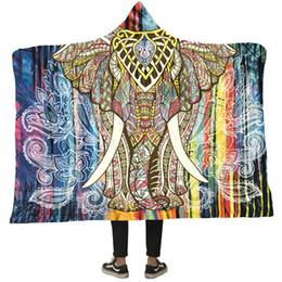 con Hat Creative Tapestry per Studiare il doppio strato per guardare la coperta da stampa digitale 3D TV Tenere coperta con cappuccio caldo supplier tapestry blankets da coperte di tappezzerie fornitori