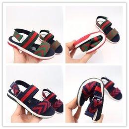 enfants sandales d'été garçons Promotion Chaussures Designer Chaussures Enfants Sandale Bébés Enfants Sandales Chaussures Infantiles Garçons Filles Sandales D'été Chaussures Enfants Sandales Sandales
