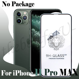 protector iphone 6s Promo Codes - Full Screen Protector for iPhone 11 Pro XS MAX 7 8 6S Plus 5D Edge to Edge Tempered Glass Without Package