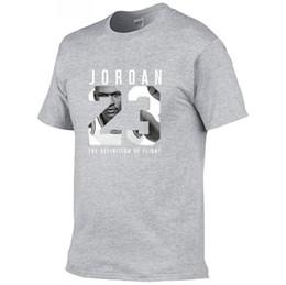 t-shirt swag nouveau Promotion Nouveau Vêtements 23 Hommes T-shirt Swag T-Shirt Coton Imprimé Hommes T shirt Homme Fitness Camisetas Hip Hop Tshirt