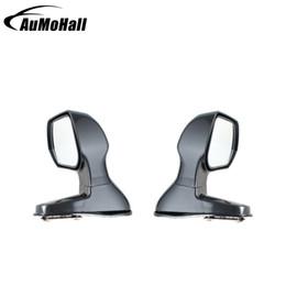 Espejo retrovisor lateral del coche online-punto ciego del coche 1 par Color Negro Gran Angular espejos retrovisores de coches de punto ciego Cuadrado Vista de costado con espejo plano lateral del espejo retrovisor